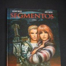 Cómics: SEGMENTOS - 1. LEXIPOLIS - JUAN GIMENEZ - GLENAT - . Lote 41463144