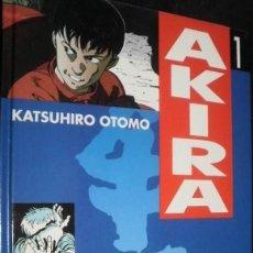 Cómics: AKIRA DE KATSUHIRO OTOMO PACK TOMOS Nº 1 Y Nº 2 TAPA DURA DRAGON GLÉNAT - EDICIONES B. Lote 41522579