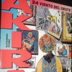 Cómics: AKIRA DE KATSUHIRO OTOMO LOTE DE 9 CÓMICS DEL Nº 24 AL 32 DRAGON GLENAT - EDICIONES B. Lote 41523024