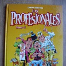 Cómics: LOS PROFESIONALES. TOMO 3. CARLOS GIMENEZ. GLENAT. Lote 114088742