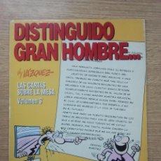 Cómics: DISTINGUIDO GRAN HOMBRE (VAZQUEZ). Lote 42849975