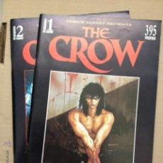 Cómics: THE CROW J. O'BARR, GLENAT (1995) NÚMEROS 1-2. Lote 43153155