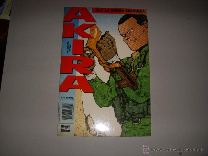AKIRA Nº 27, EDITORIAL GLENAT (Tebeos y Comics - Glénat - Comic USA)