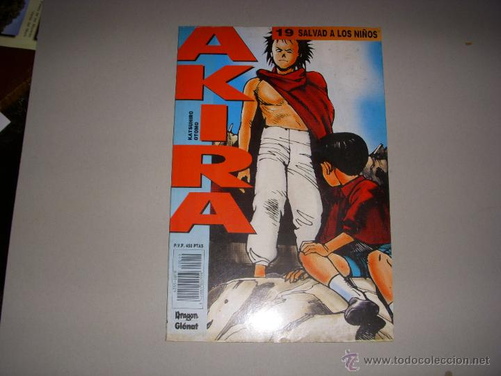 AKIRA Nº 19, EDITORIAL GLENAT (Tebeos y Comics - Glénat - Comic USA)