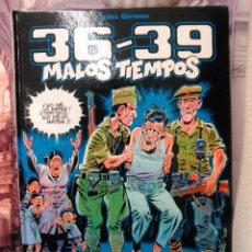 Cómics: 36 - 39 MALOS TIEMPOS 1 -CARLOS GIMÉNEZ-. Lote 44076351