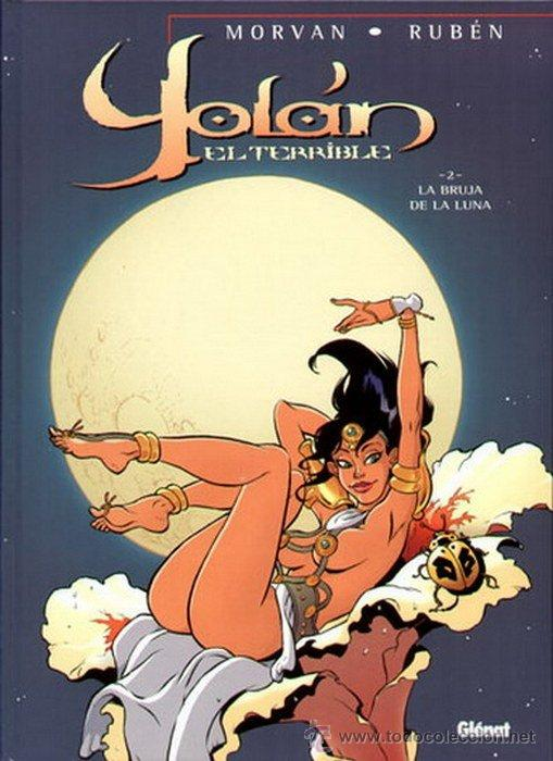 YOLÁN EL TERRIBLE 2: LA BRUJA DE LA LUNA (Tebeos y Comics - Glénat - Comic USA)