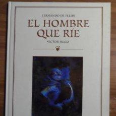 Cómics: EL HOMBRE QUE RÍE. FERNANDO DE FELIPE. GLENAT.. Lote 44649639
