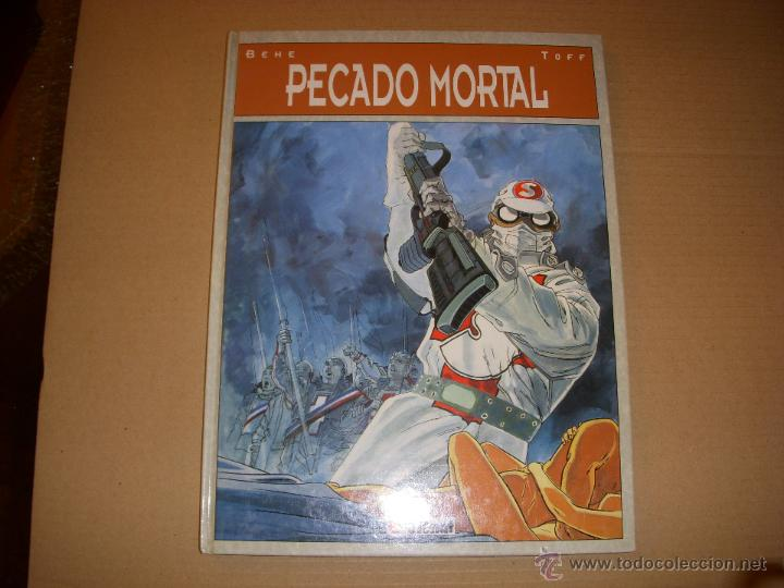 PECADO MORTAL, TAPA DURA, EDITORIAL GLENAT (Tebeos y Comics - Glénat - Comic USA)