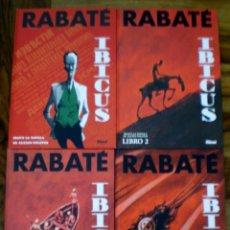 Cómics: IBICUS - RABATE - COMPLETA 4 TOMOS - 1ª EDICION. Lote 173156135