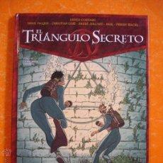 Cómics: EL TRIANGULO SECRETO TOMO VI : LA PALABRA PPERDIDA - DIDIER CONVARD - DENIS FALQUE/GLENAT . Lote 45592603