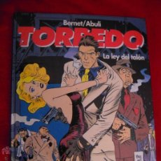 Cómics: TORPEDO 8 - LA LEY DEL TALON - BERNET & ABULI - CARTONE. Lote 45817133