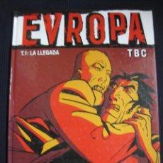 Comics: EUROPA. TOMO 1. LA LLEGADA. TBC VIÑETAS NEGRAS. GLENAT. Lote 45818307