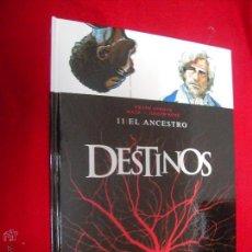Cómics: DESTINOS 11 - EL ANCESTRO - GIROUND & BEHE - CARTONE. Lote 46036416