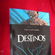 Cómics: DESTINOS 5 - EL FANTASMA - GIROUND & COBEYRAN & ESPE - CARTONE. Lote 46036539