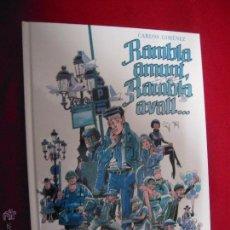 Cómics: RAMBLA AMUNT RAMBLA AVALL - GIMENEZ - CARTONE - EN CATALAN. Lote 46036687