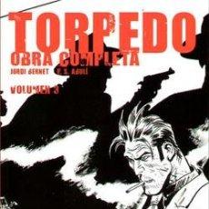 Cómics: TORPEDO OBRA COMPLETA DE JORDI BERNET & E.S. ABULÍ EDICIONES GLÉNAT. Lote 46326376
