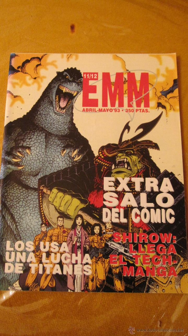 Cómics: GLENAT. EMM REVISTA DE COMICS. SALON DEL COMIC 1993......... COMO NUEVOS.INDISPENSABLE - Foto 1 - 47088451