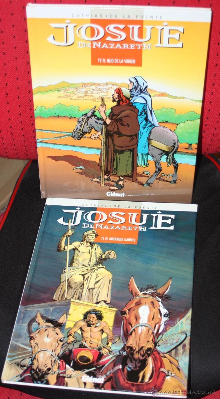 JOSUE DE NAZARETH ( DE COTHIAS & VICTOR DE LA FUENTE). . COLECCION COMPLETA EN DOS TOMOS (Tebeos y Comics - Glénat - Autores Españoles)