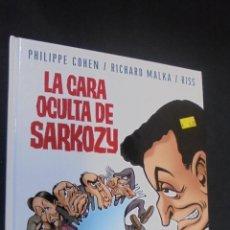 Cómics: LA CARA OCULTA DE SARKOZY - PHILIPE COHEN - RICHARD MALKA - RISS - GLENAT.. Lote 47573072