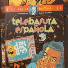 Cómics: BIBLIOTECA DR.VERTIGO-TELEBASURA ESPAÑOLA-FAUSTO FERNANDEZ. Lote 47601770