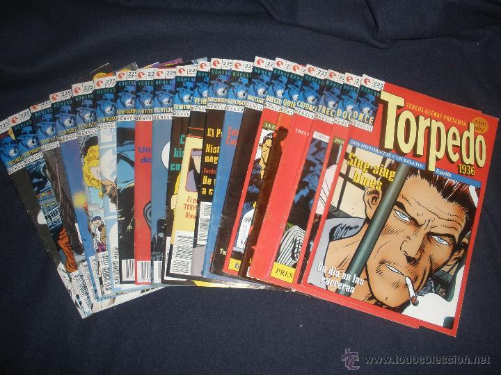 COMICS TEBEOS GLENAT TORPEDO POR BERNET Y ABULI.DIEZ EJEMPLARES Nº ONCE AL VEINTE (Tebeos y Comics - Glénat - Autores Españoles)