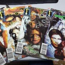 Cómics: THE X FILES ¡ LOTE 4 NUMEROS ! Nº 1 , 2 , 3 Y 11 / GLENAT - POSIBILIDAD DE NUMEROS SUELTOS. Lote 35934324