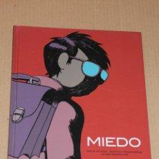 Cómics: MIEDO - DAVID MUÑOZ / A TRASHORRAS / J RODRIGUEZ - GLÉNAT 2003 - EN CARTONÉ - COMO NUEVO. Lote 48554490