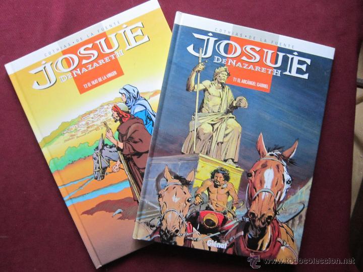 JOSUÉ DE NAZARETH. COMPLETA 2 ÁLBUMES. COTHIAS Y DE LA FUENTE. EDICIONES GLÉNAT 1998. NUEVOS (Tebeos y Comics - Glénat - Autores Españoles)