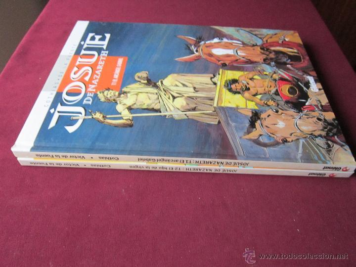 Cómics: JOSUÉ DE NAZARETH. Completa 2 álbumes. Cothias y De La Fuente. EDICIONES GLÉNAT 1998. Nuevos - Foto 2 - 48823932