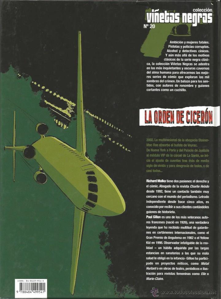 Cómics: LA ORDEN DE CICERÓN - T.2: ENCAUSADO - MALKA / GILLON - GLÈNAT 2006 - Foto 2 - 48937755