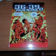 Cómics: 36 - 39 MALOS TIEMPOS Nº 2 POR CARLOS GIMENEZ EDITORIAL GLENAT TAPA DURA . Lote 49124715