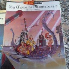 Cómics: LAS AGUAS DE MORTELUNE 3º ADAMOV COTHIAS VIÑETAS COMPLETAS Nº 4 ED. GLENAT 1994 EL PRINCIPE Y LA MU. Lote 49220260