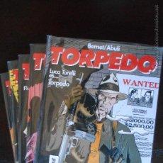 Cómics: TORPEDO : T1 A T5 (Nº 1 A 5) - BERNET/ABULÍ - GLÉNAT - NUEVO (U). Lote 49298026