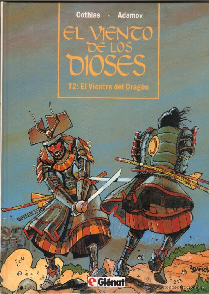 EL VIENTO DE LOS DIOSES T2: EL VIENTO DEL DRAGON - COTHIAS . ADAMOV - GLÉNAT 1994,MAGNÍFICO ESTADO (Tebeos y Comics - Glénat - Comic USA)