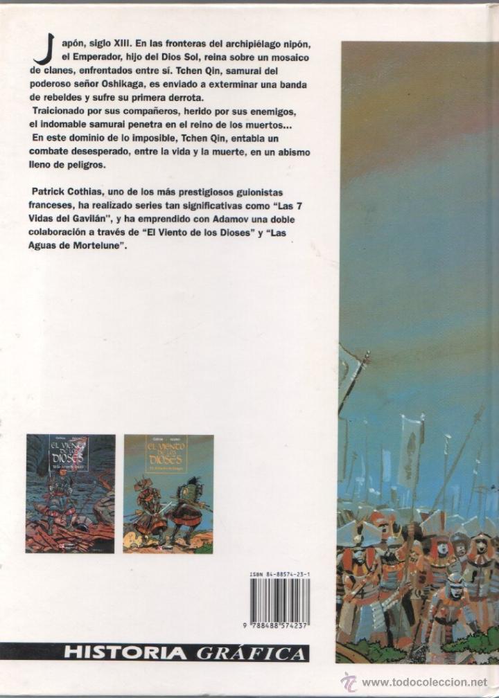 Cómics: EL VIENTO DE LOS DIOSES T2: EL VIENTO DEL DRAGON - COTHIAS . ADAMOV - GLÉNAT 1994,MAGNÍFICO ESTADO - Foto 2 - 49508839