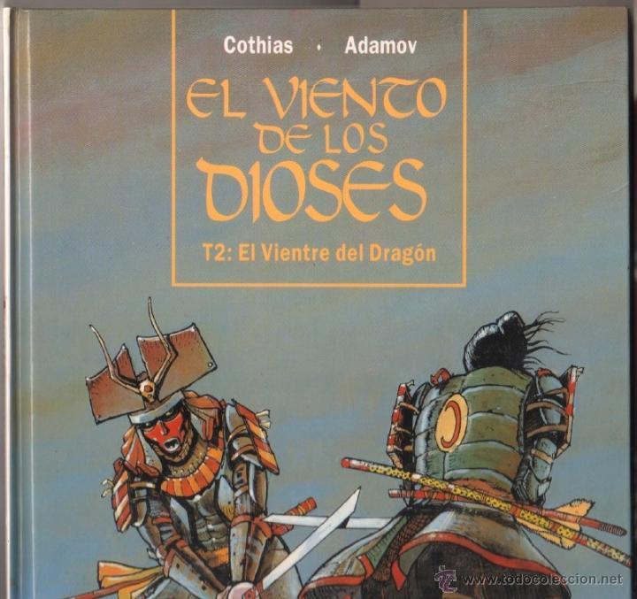Cómics: EL VIENTO DE LOS DIOSES T2: EL VIENTO DEL DRAGON - COTHIAS . ADAMOV - GLÉNAT 1994,MAGNÍFICO ESTADO - Foto 3 - 49508839