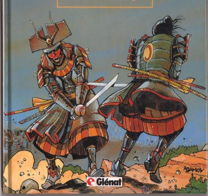 Cómics: EL VIENTO DE LOS DIOSES T2: EL VIENTO DEL DRAGON - COTHIAS . ADAMOV - GLÉNAT 1994,MAGNÍFICO ESTADO - Foto 4 - 49508839