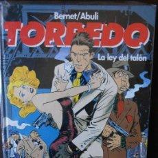 Cómics: TORPEDO : T8 (8) - BERNET/ABULÍ - LA LEY DEL TALÓN - GLÉNAT - NUEVO (U). Lote 49540246