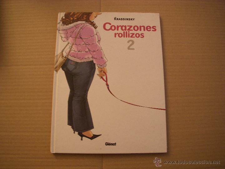 CORAZONES ROLLIZOS 2, TAPA DURA, EDITORIAL GLENAT (Tebeos y Comics - Glénat - Comic USA)