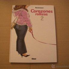 Cómics: CORAZONES ROLLIZOS 2, TAPA DURA, EDITORIAL GLENAT. Lote 49902301