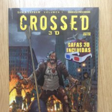 Cómics: CROSSED EN 3D, DE GARTH ENNIS Y DAVID LAPHAM (¡¡INCLUYE LAS GAFAS ORIGINALES!!). Lote 49997868