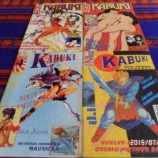Cómics: KABUKI NºS 2, 4, 7 Y 8. GLÉNAT 1995. 325 PTS. COMIC Y ANIMACIÓN JAPONESA, MANGA. BE.. Lote 50245720
