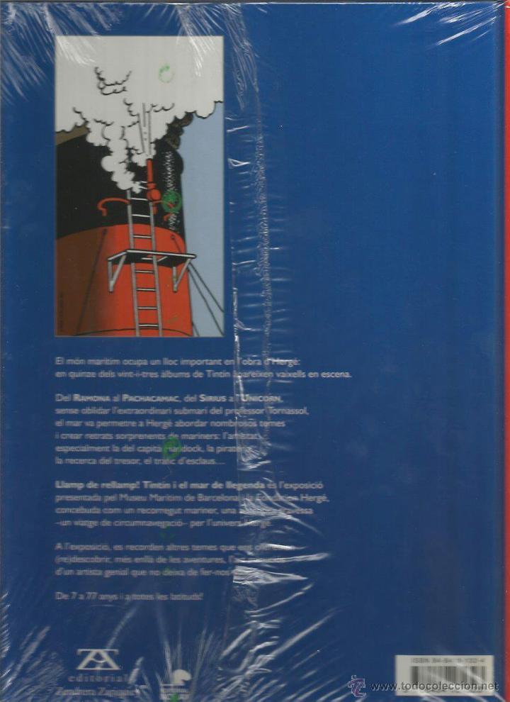 Cómics: LLAMP DE RELLAMP!, TINTÍN, HADDOCK I ELS VAIXELLS - ZENDRERA ZARIQUIEY EDITORIAL NORAY - EN CATALÁN - Foto 2 - 50345505