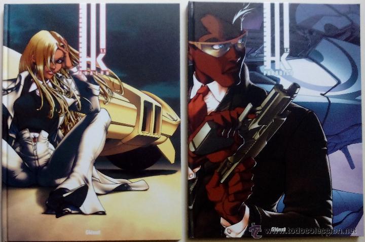 HK 1.1 AVALON Y HK 1.2 PARADISO (2 TOMOS DE 4) - KEVIN HERAULT, MORVAN,MASSON - GLENAT (2005) (Tebeos y Comics - Glénat - Comic USA)
