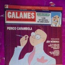 Cómics: GALLARDO / VIDAL-FOLCH - GALANES EL SEMANARIO DE LOS RICOS Y FAMOSOS - VIÑETAS COMPLETAS Nº 10. Lote 50732053