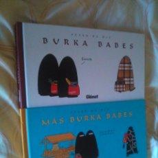 Cómics: BURKA BABES + MÁS BURKA BABES - PETER DE WIT - GLENAT & EDT - PRECIO 27,90. Lote 50732699