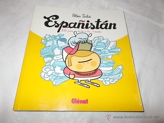 ESPAÑISTAN CON DEDICATORIA DEL AUTOR (Tebeos y Comics - Glénat - Autores Españoles)