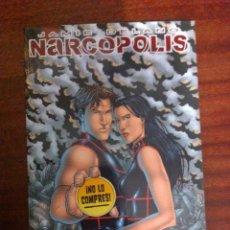 Cómics: TOMO NARCÓPOLIS DE JAMIE DELANO Y JEREMY ROCK, GLENAT, AVATAR.. Lote 51460463