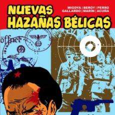 Cómics: NUEVAS HAZAÑAS BÉLICAS TOMO ROJO: DOS AGUILAS DE UN TIRO (GLÉNAT, 2011). Lote 89316646