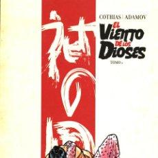 Cómics: EL VIENTO DE LOS DIOSES INTEGRAL, DE COTHIAS Y ADAMOV (GLÉNAT, 2011) 250 PGS. TAPA DURA. NUEVO.. Lote 221808692